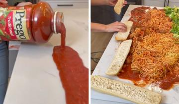 Новый способ готовить спагетти с фрикадельками вызвал ажиотаж в соцсетях