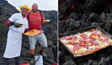 Вкуснятина года: пицца на действующем вулкане из Гватемалы