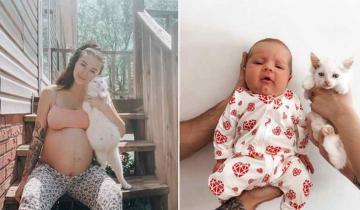 Две будущие мамочки устроили фотосессию с продолжением