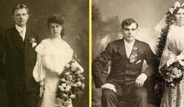 Свадебные платья на фотографиях XIX века: очень атмосферно