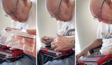 85-летний мужчина нашел кассету с записью, сделанной мамой 40 лет назад