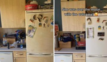 Девушка из клининговой компании сделала уборку так, что мебель поменяла свой цвет