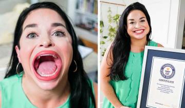 Женщина с самым большим ртом в мире посоветовала всем не стесняться своих особенностей