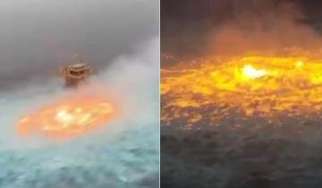 Кипит, пылает и взрывается: в Мексике случайно подожгли океан