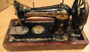 Почему за швейными машинками Зингер охотятся антиквары