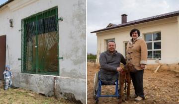 Мужчина в инвалидной коляске купил магазин в деревне и превратил его в уютный дом