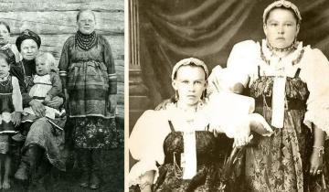 Фотозагадка: почему на старых фотографиях так много крестьянок «без шеи»?
