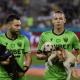 Футболисты «Динамо» из Бухареста вышли на матч с собаками