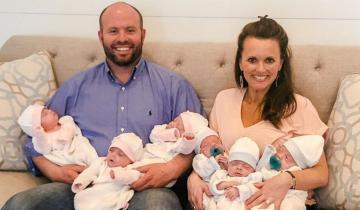 Пара, которая решила завести четвертого ребенка, в итоге получила 9!
