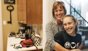 Мама занялась плаванием в память о дочери, которая ушла в 14 лет