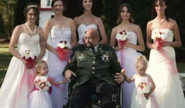7 дочерей исполнили заветную мечту умирающего отца