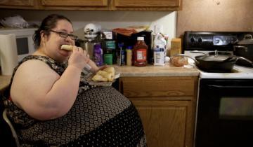 Самая толстая мама в мире весит 241 килограмм